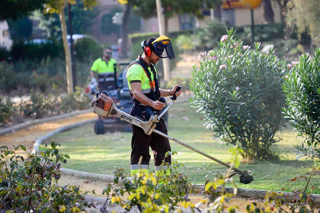 El mantenimiento de las zonas verdes y jardines en su empresa